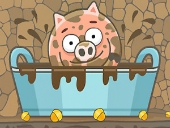 Играть в Piggy in the Puddle